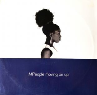 "M People ‎- Moving On Up (12"") (VG/G-VG)"